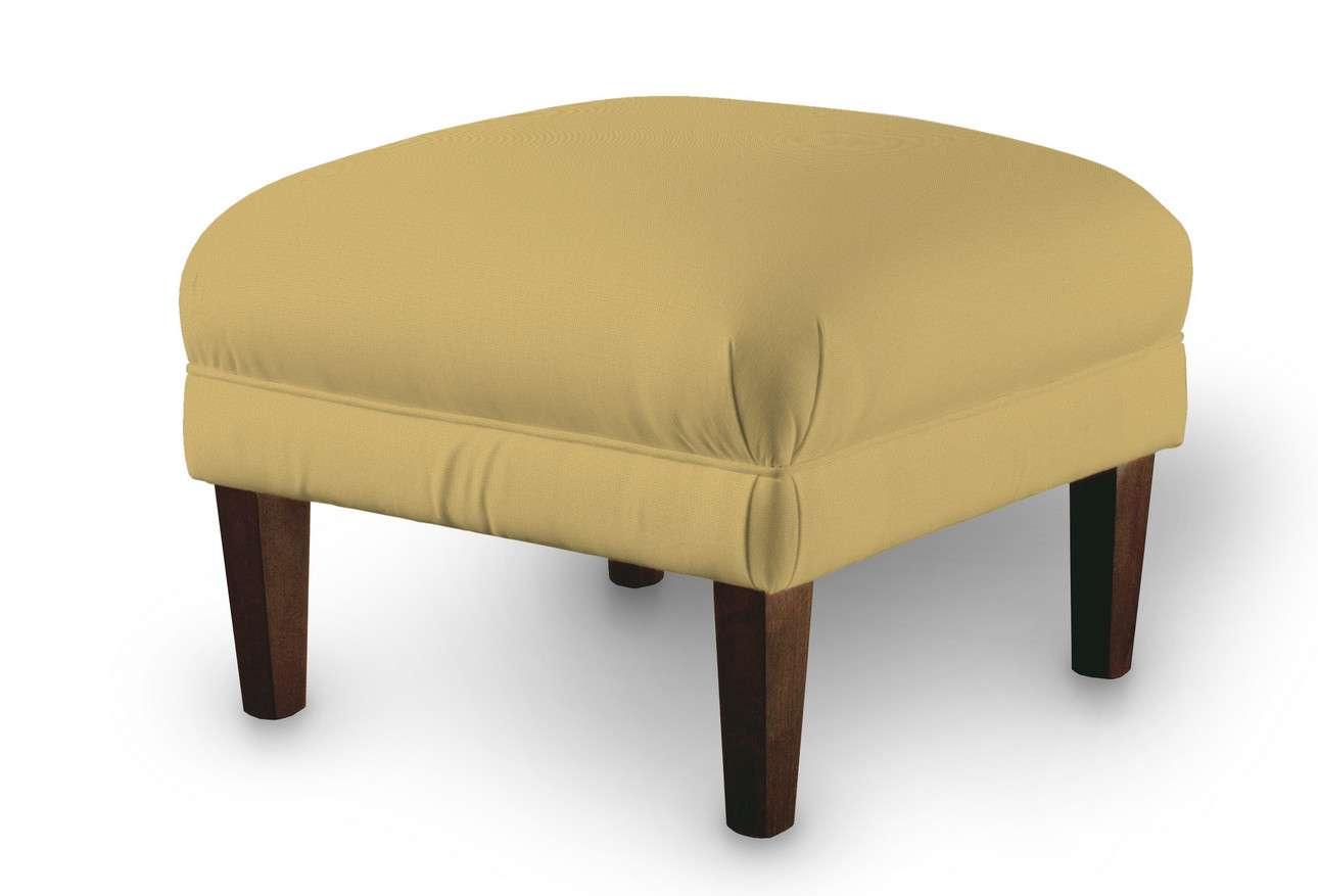 Podnóżek do fotela w kolekcji Cotton Panama, tkanina: 702-41