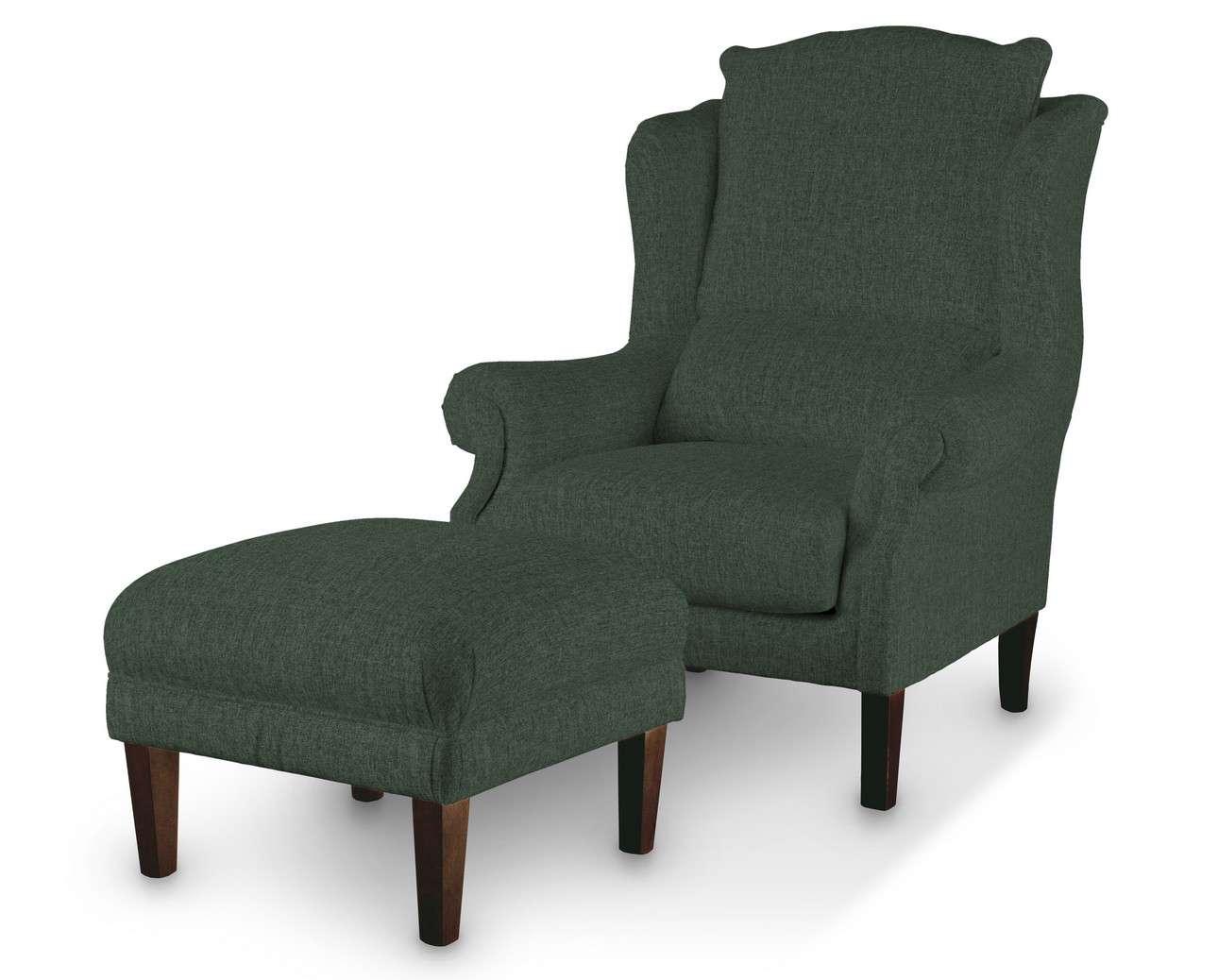 Podnóżek do fotela w kolekcji City, tkanina: 704-81