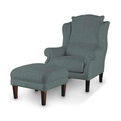 Podnóżek do fotela w kolekcji City, tkanina: 704-85