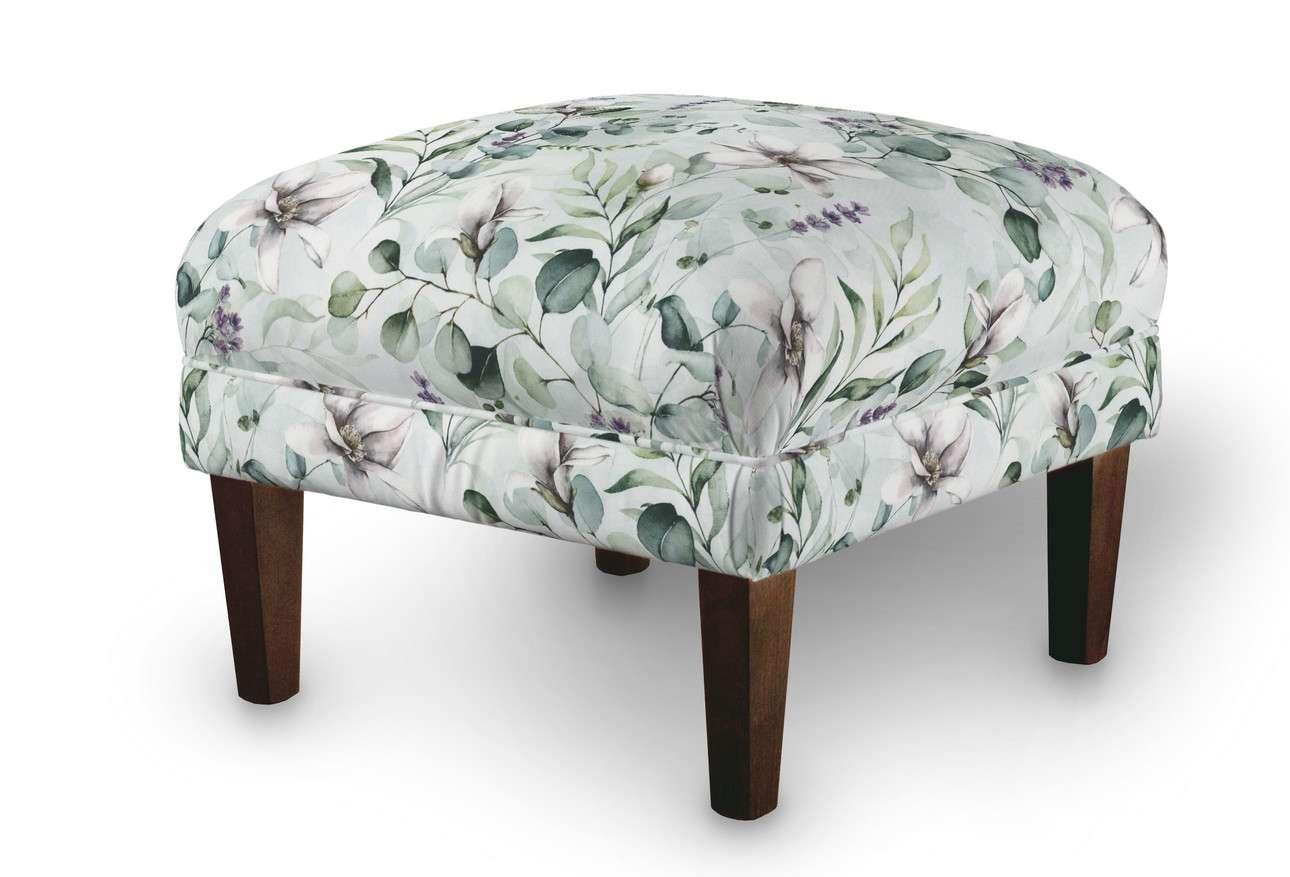 Podnóżek do fotela w kolekcji Flowers, tkanina: 143-66