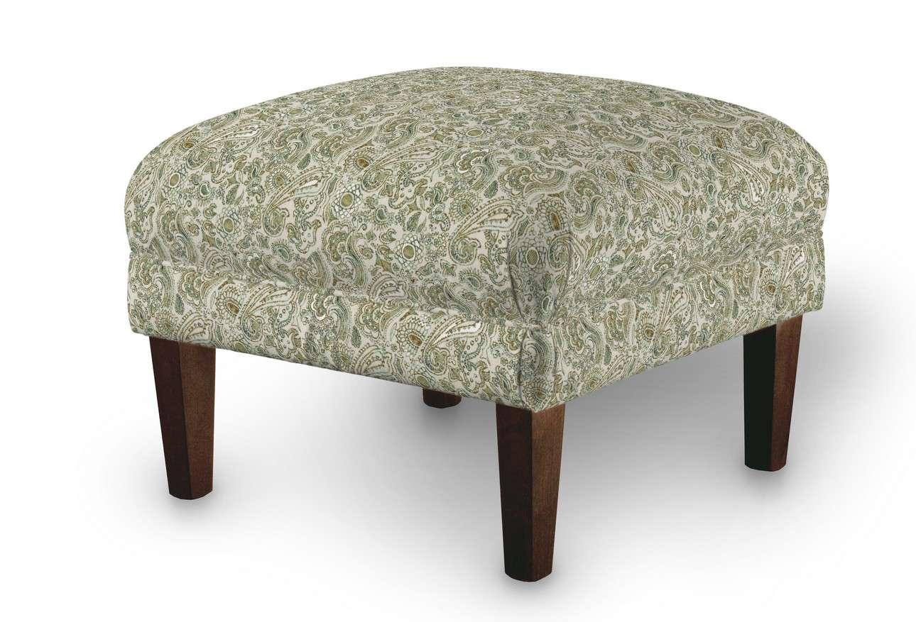 Podnóżek do fotela w kolekcji Flowers, tkanina: 143-68
