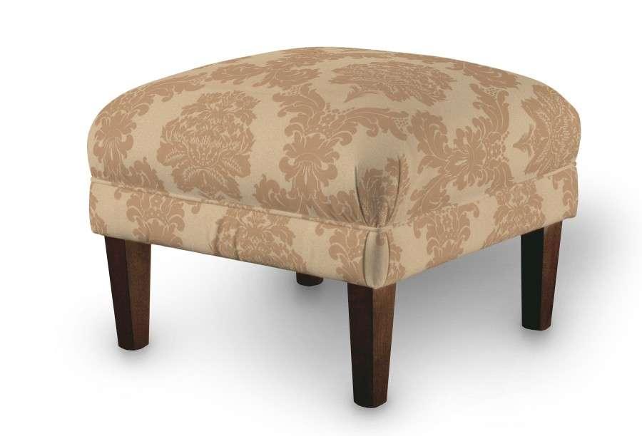 Dekoria fotelio pakojis-pufas 56 x 56 x 40 cm kolekcijoje Damasco, audinys: 613-04