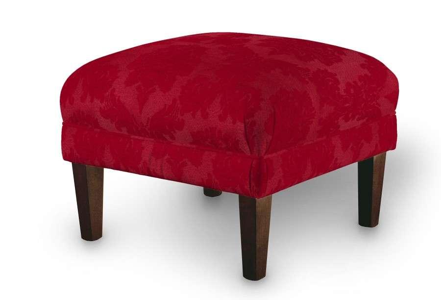 Podnóżek do fotela 56x56x40 cm w kolekcji Damasco, tkanina: 613-13