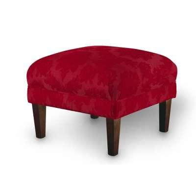 Podnóżek do fotela 613-13 bordowy Kolekcja Damasco