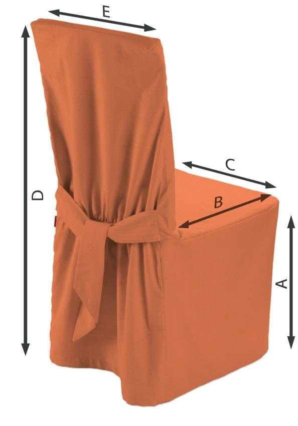Návlek na stoličku 45 x 94 cm V kolekcii Jupiter, tkanina: 127-35