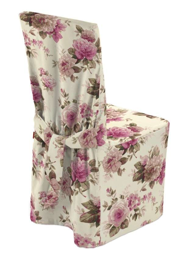 Standard and made to measure chair cover in collection Mirella, fabric: 141-07