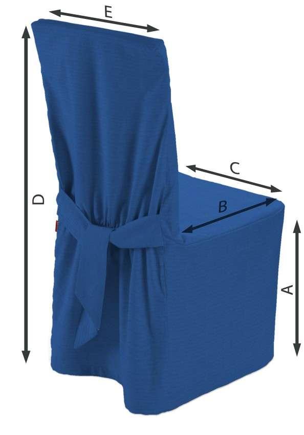 Sukienka na krzesło 45x94 cm w kolekcji Jupiter, tkanina: 127-61