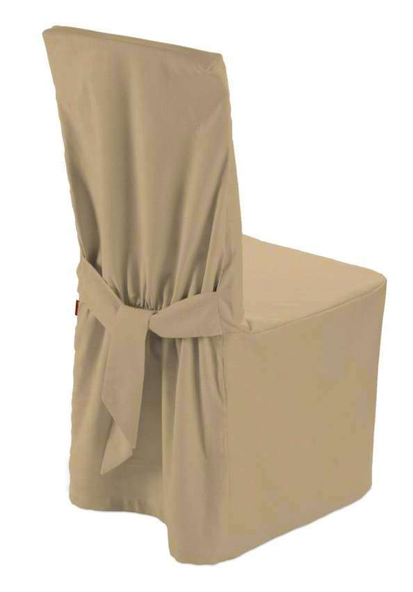 Standard and made to measure chair cover 45 × 94 cm (18 × 37 inch) in collection Panama Cotton, fabric: 702-01