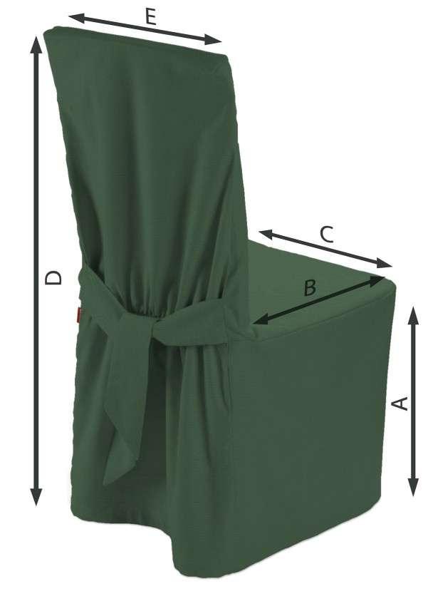 Návlek na stoličku V kolekcii Cotton Panama, tkanina: 702-06