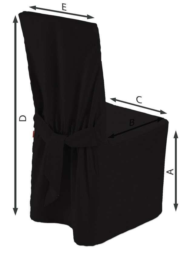 Stuhlhusse 45 x 94 cm von der Kollektion Cotton Panama, Stoff: 702-09