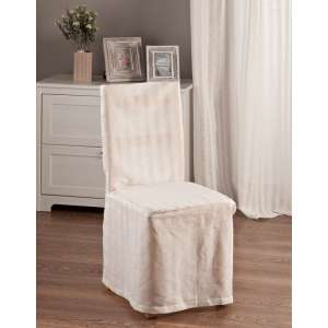 Standard and made to measure chair cover 45 x 94 cm (18 x 37 inch) in collection Linen, fabric: 392-03