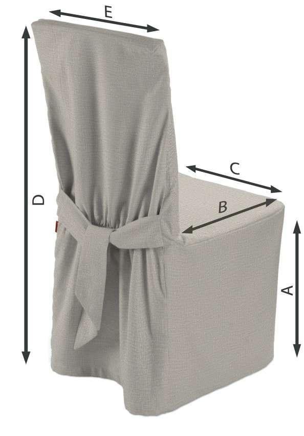 Stuhlhusse 45 x 94 cm von der Kollektion Leinen, Stoff: 392-05