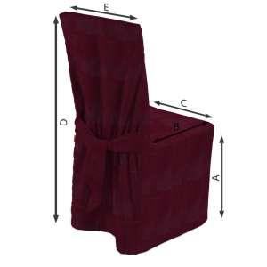 Stuhlhusse 45 x 94 cm von der Kollektion Chenille , Stoff: 702-19