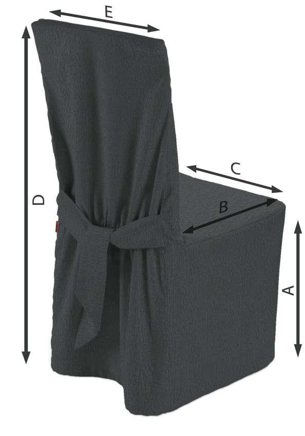 Návlek na stoličku V kolekcii Chenille, tkanina: 702-20