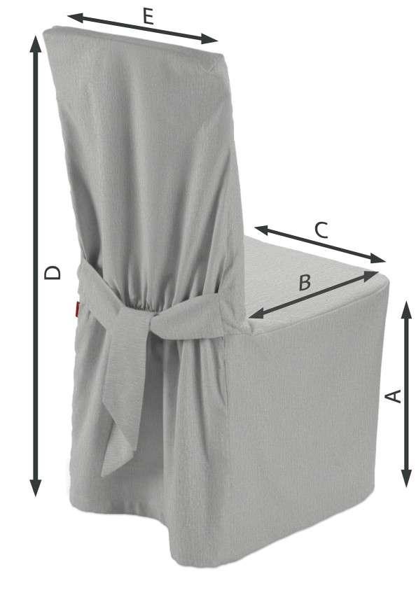 Stuhlhusse 45 x 94 cm von der Kollektion Chenille , Stoff: 702-23