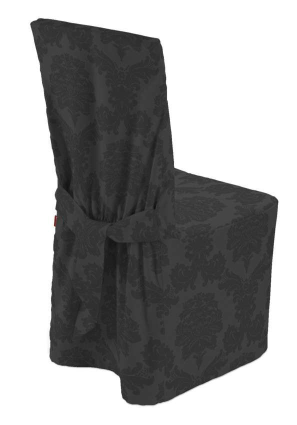 Standard and made to measure chair cover in collection Damasco, fabric: 613-32