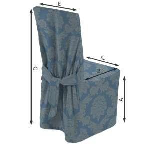 Sukienka na krzesło 45x94 cm w kolekcji Damasco, tkanina: 613-67