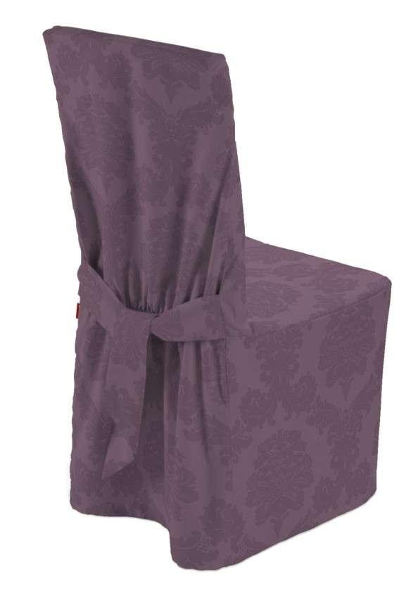Návlek na židli v kolekci Damasco, látka: 613-75