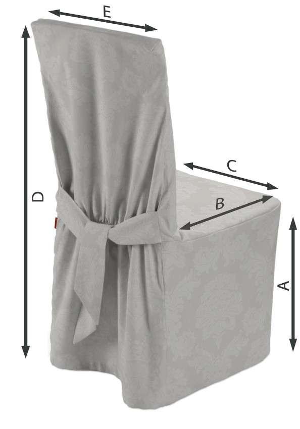 Návlek na stoličku 45 x 94 cm V kolekcii Damasco, tkanina: 613-81