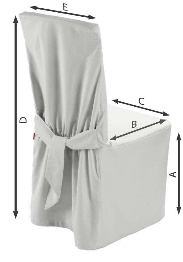 Stuhlhusse 45 x 94 cm von der Kollektion Loneta, Stoff: 133-02