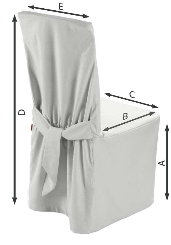 Sukienka na krzesło 45x94 cm w kolekcji Loneta, tkanina: 133-02