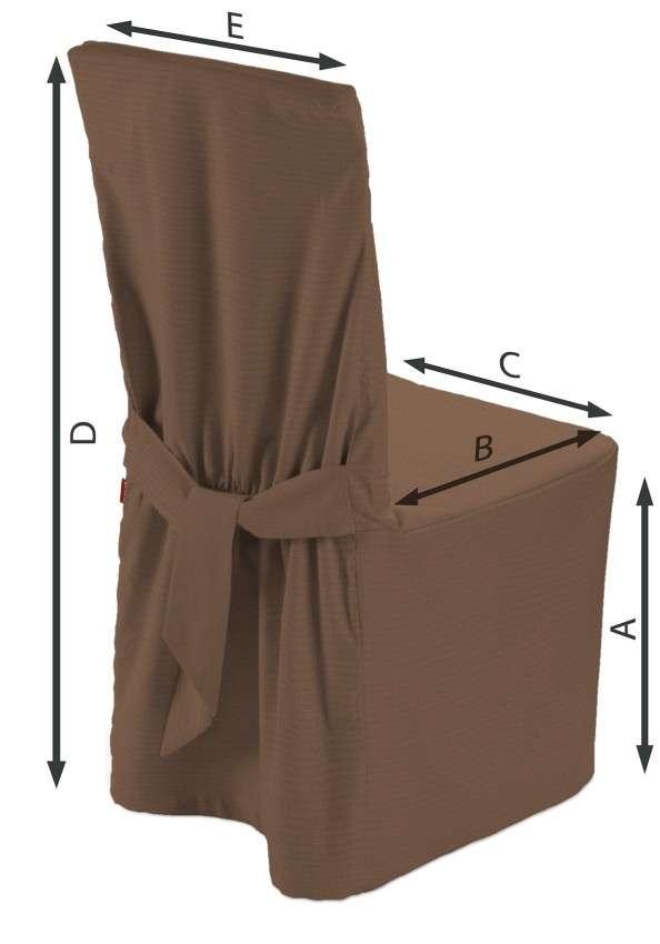 Stuhlhusse von der Kollektion Loneta, Stoff: 133-09