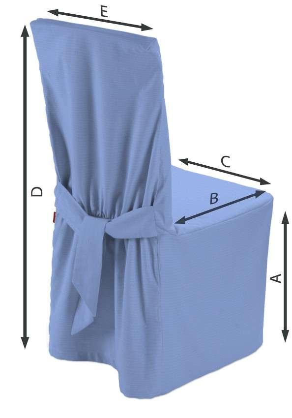 Sukienka na krzesło 45x94 cm w kolekcji Loneta, tkanina: 133-21