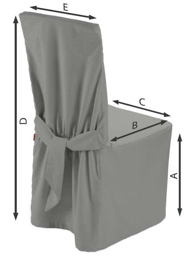 Stolsöverdrag i kollektionen Loneta, Tyg: 133-24