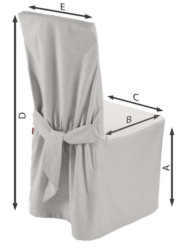 Sukienka na krzesło 45x94 cm w kolekcji Etna , tkanina: 705-01