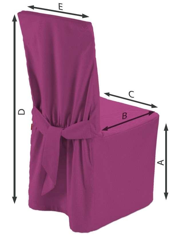 Sukienka na krzesło 45x94 cm w kolekcji Etna , tkanina: 705-23
