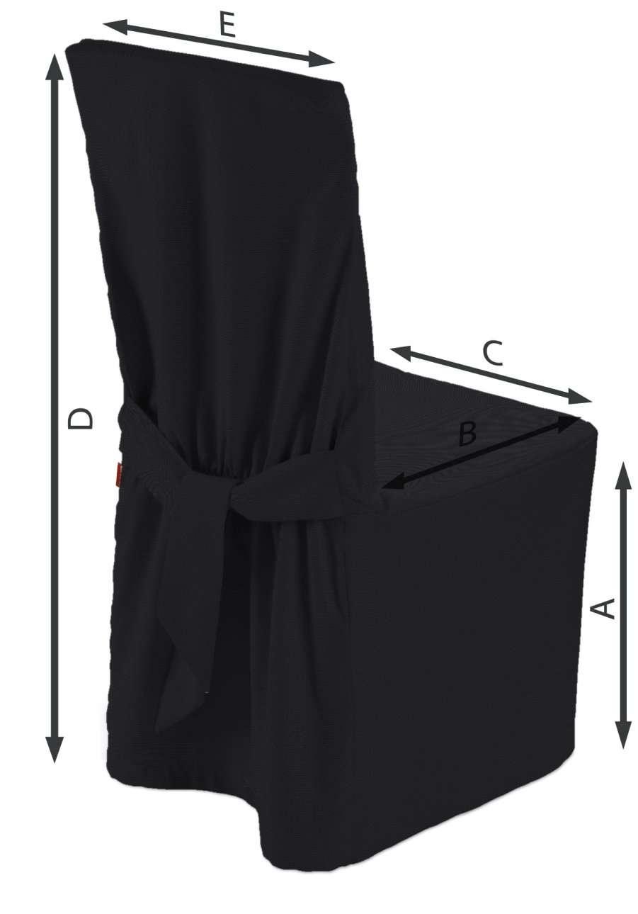 Sukienka na krzesło w kolekcji Etna, tkanina: 705-00
