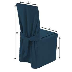 Sukienka na krzesło 45x94 cm w kolekcji Cotton Panama, tkanina: 702-30