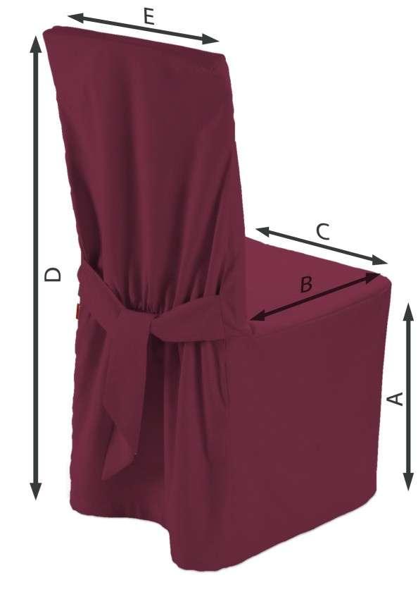 Sukienka na krzesło w kolekcji Cotton Panama, tkanina: 702-32