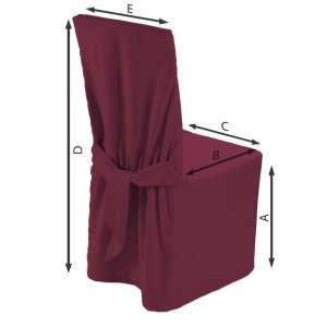 Stuhlhusse 45 x 94 cm von der Kollektion Cotton Panama, Stoff: 702-32