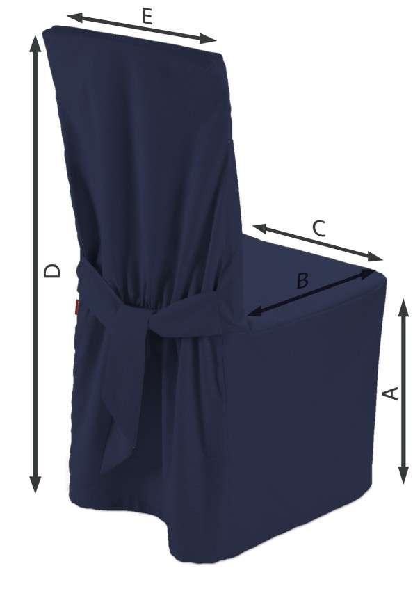 Návlek na stoličku V kolekcii Quadro, tkanina: 136-04