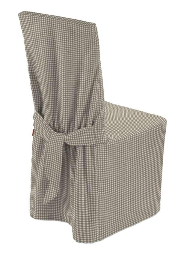 Sukienka na krzesło w kolekcji Quadro, tkanina: 136-05