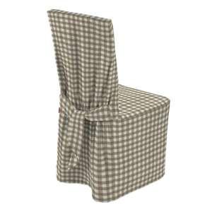 Stuhlhusse 45 x 94 cm von der Kollektion Quadro, Stoff: 136-06