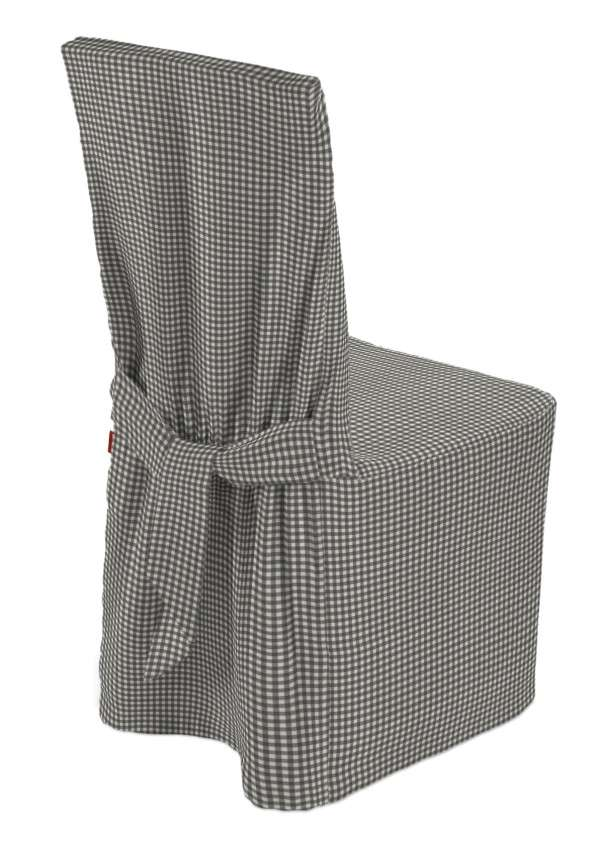 Stuhlhusse 45 x 94 cm von der Kollektion Quadro, Stoff: 136-10