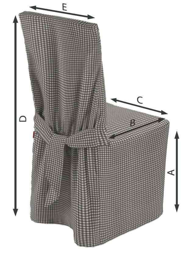 Universal Stoltrekk fra kolleksjonen Quadro, Stoffets bredde: 136-10