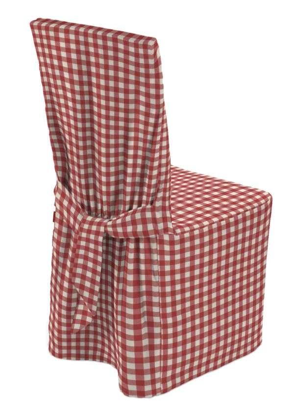 Stuhlhusse 45 x 94 cm von der Kollektion Quadro, Stoff: 136-16