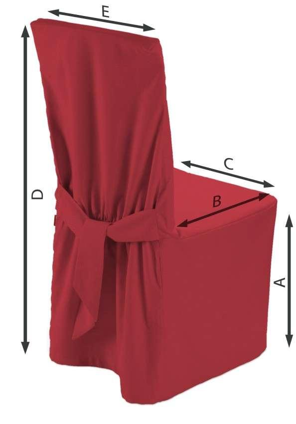 Návlek na stoličku V kolekcii Quadro, tkanina: 136-19