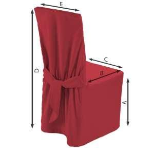 Sukienka na krzesło 45x94 cm w kolekcji Quadro, tkanina: 136-19