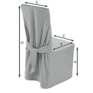 Stuhlhusse 45 x 94 cm von der Kollektion Ashley, Stoff: 137-67