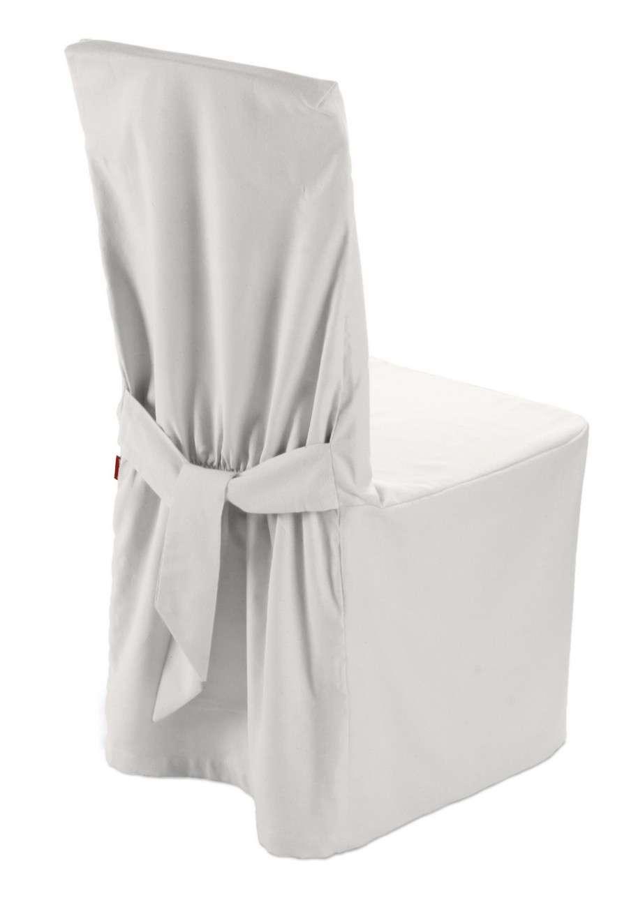 Stolsöverdrag i kollektionen Panama Cotton, Tyg: 702-34