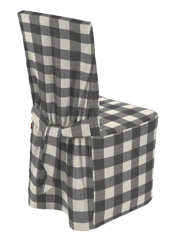Standard and made to measure chair cover 45 x 94 cm (18 x 37 inch) in collection Quadro, fabric: 136-13