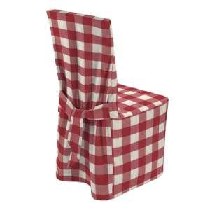 Sukienka na krzesło 45x94 cm w kolekcji Quadro, tkanina: 136-18