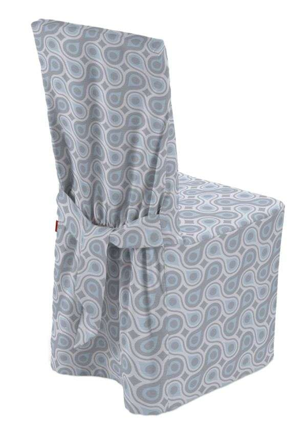 Standard and made to measure chair cover in collection Flowers, fabric: 311-13
