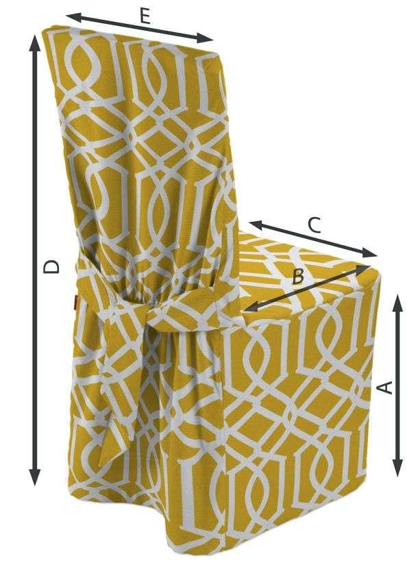 Návlek na židli 45 x 94 cm v kolekci Comics, látka: 135-09