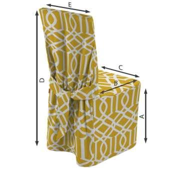 Sukienka na krzesło 45x94 cm w kolekcji Comics, tkanina: 135-09