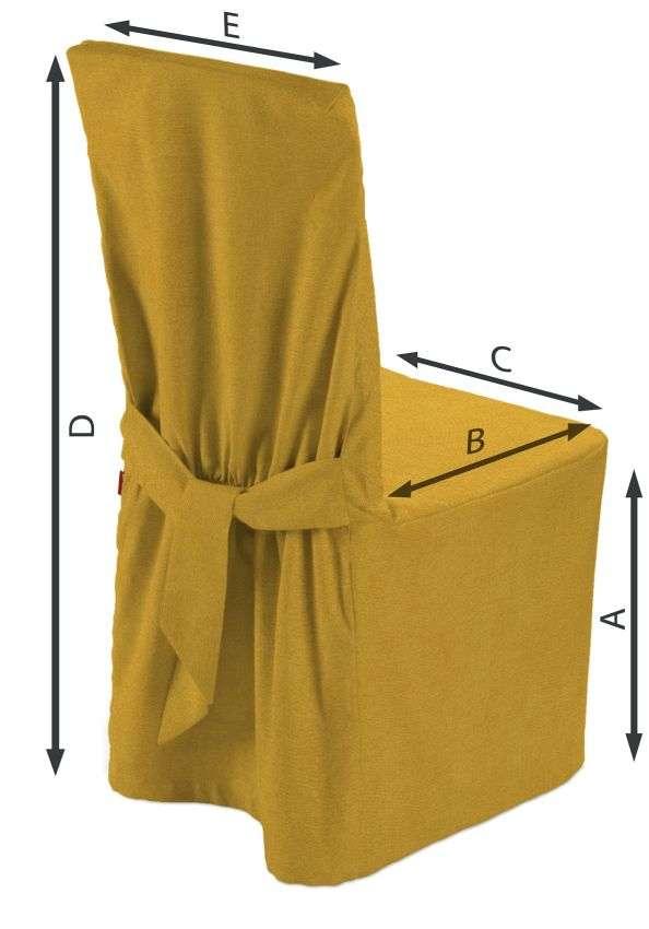 Sukienka na krzesło w kolekcji Etna, tkanina: 705-04